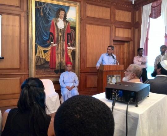دعا نائب رئيس وزراء جمهورية  موريشيوس (4)
