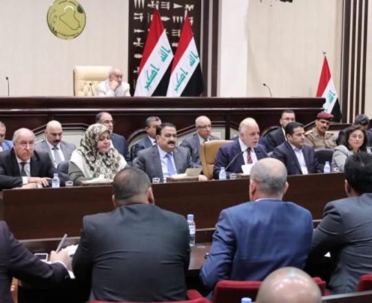 جلسة للبرلمان العراقي خلال الشهر المنصرم - وكالات