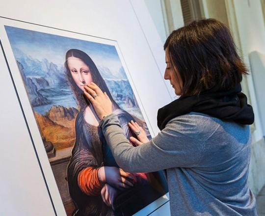 طريقة مبتكرة تمكن المكفوفين من فهم مضمون اللوحات