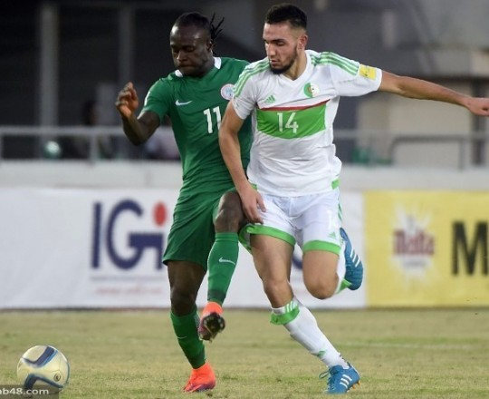 مباراة الجزائر ونيجريا الأحد