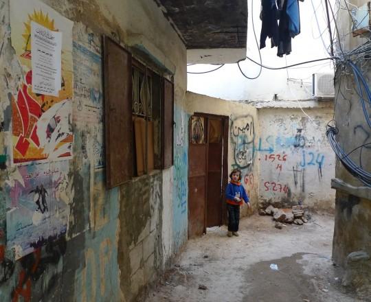 المخيمات الفلسطينية في لبنان- صورة من الارشيف