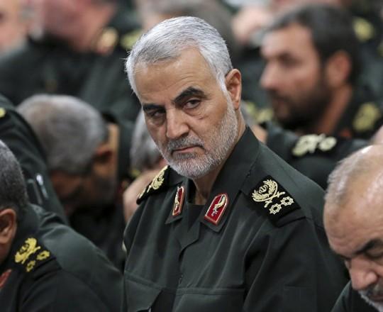 قاسم سليماني - أحد قادة الحرس الثوري الإيراني