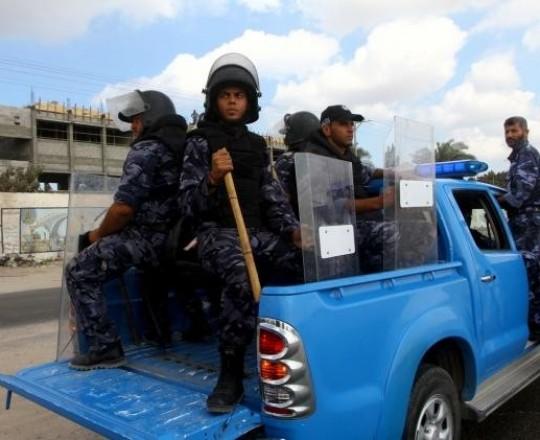 الشرطة في غزة