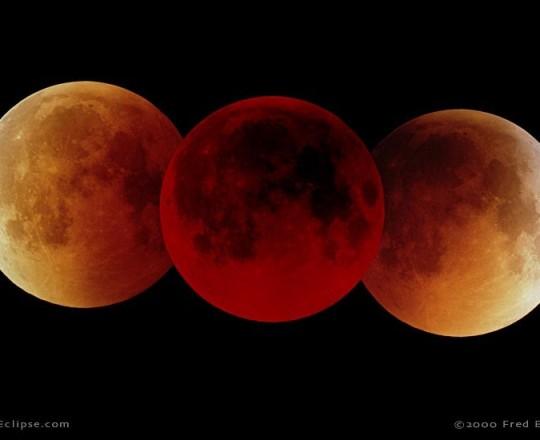 خسوف القمر (من الأرشيف)