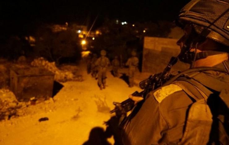 مداهمات قوات الاحتلال في الضفة (أرشيف)