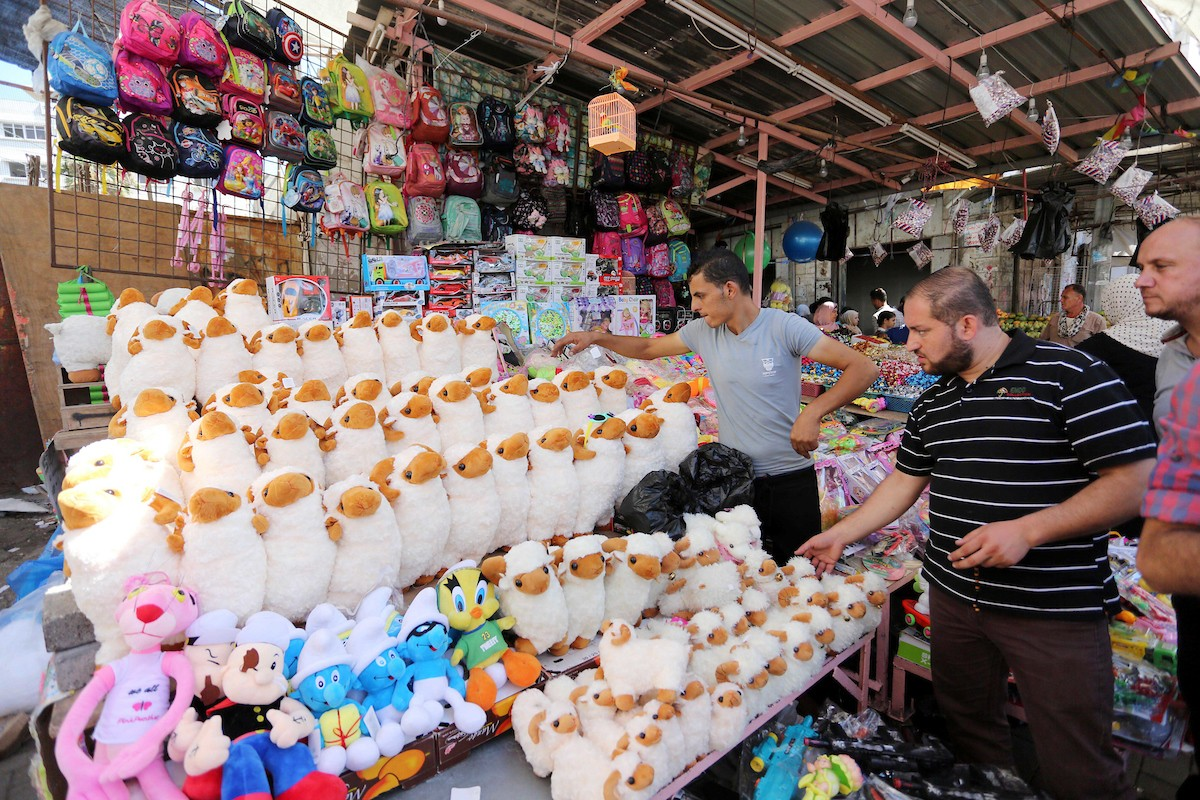 أجواء عيد الأضحى في قطاع غزة  (2).jpg