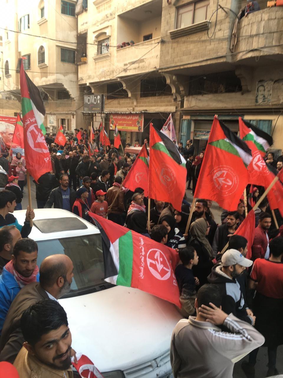 احياء ذكرى اطلاقة الجبهة الشعبية في مدينة غزة  (8).jpg