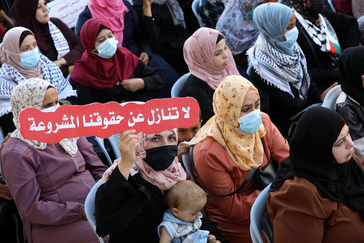 مؤتمر حاشد في غزّة لرفض اتفاق الإطار بين الأونروا وأميركا (6).jpg