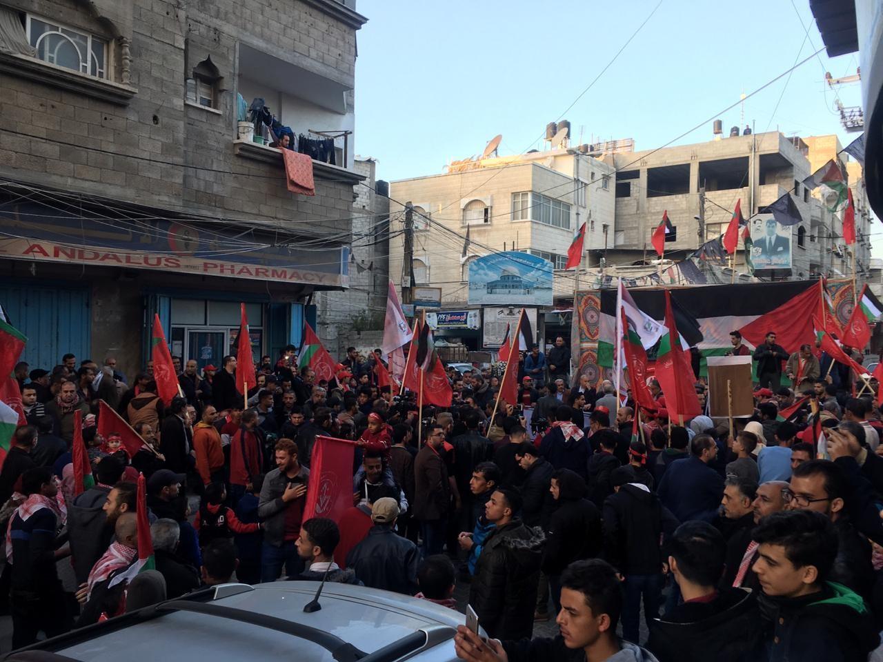 احياء ذكرى اطلاقة الجبهة الشعبية في مدينة غزة  (4).jpg