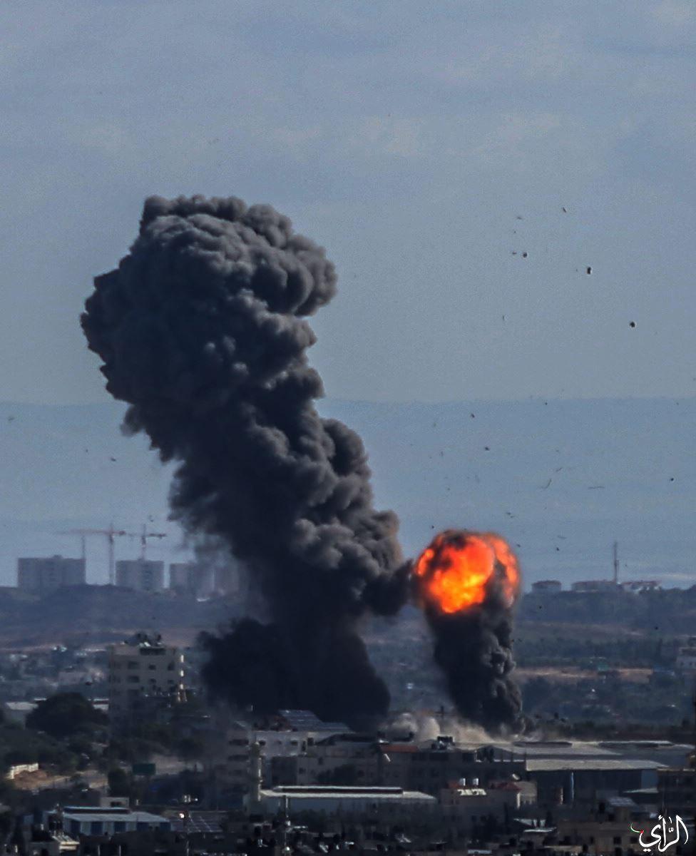 قصف شمال غزة.jpg