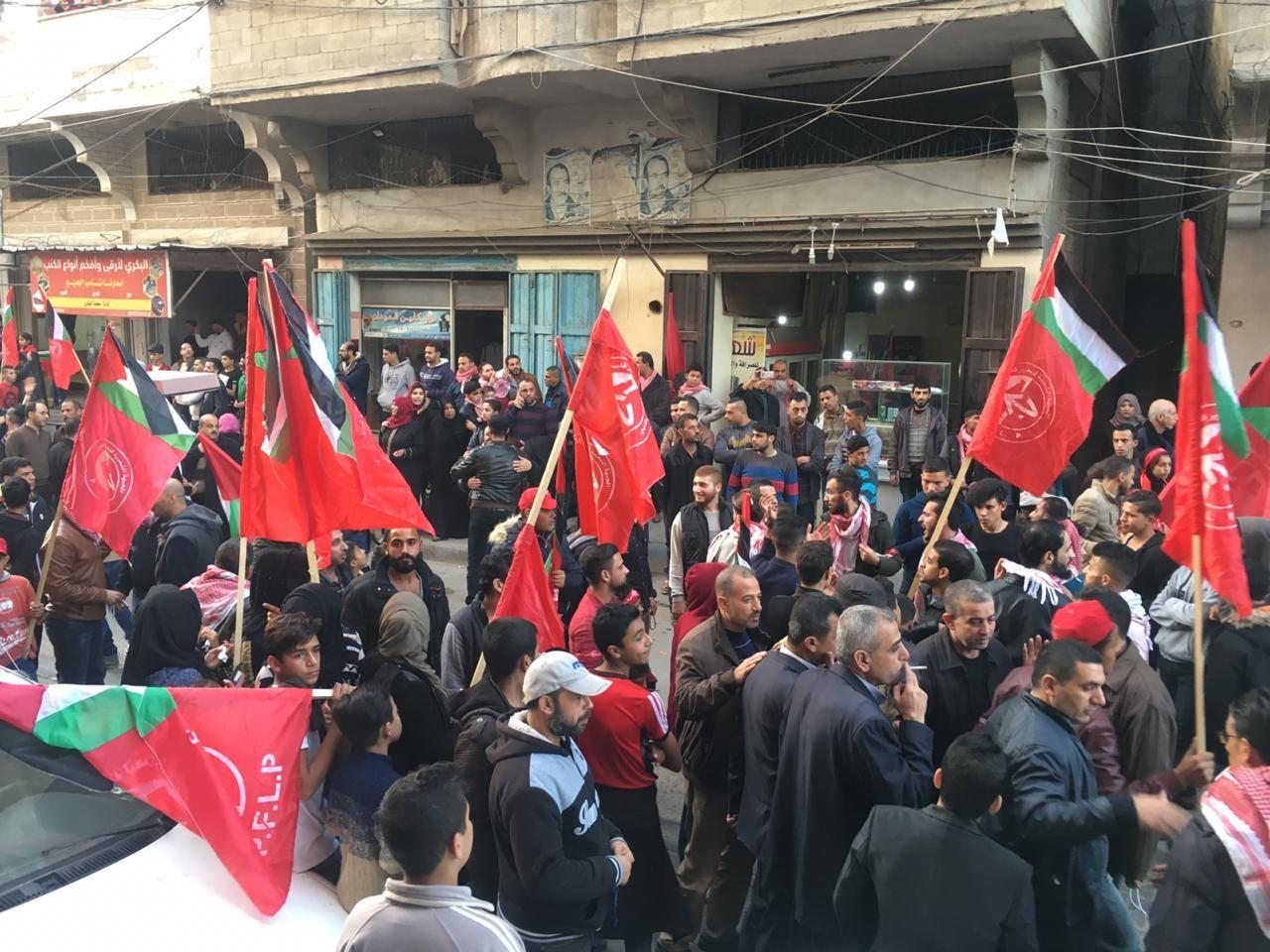 احياء ذكرى اطلاقة الجبهة الشعبية في مدينة غزة  (6).jpg