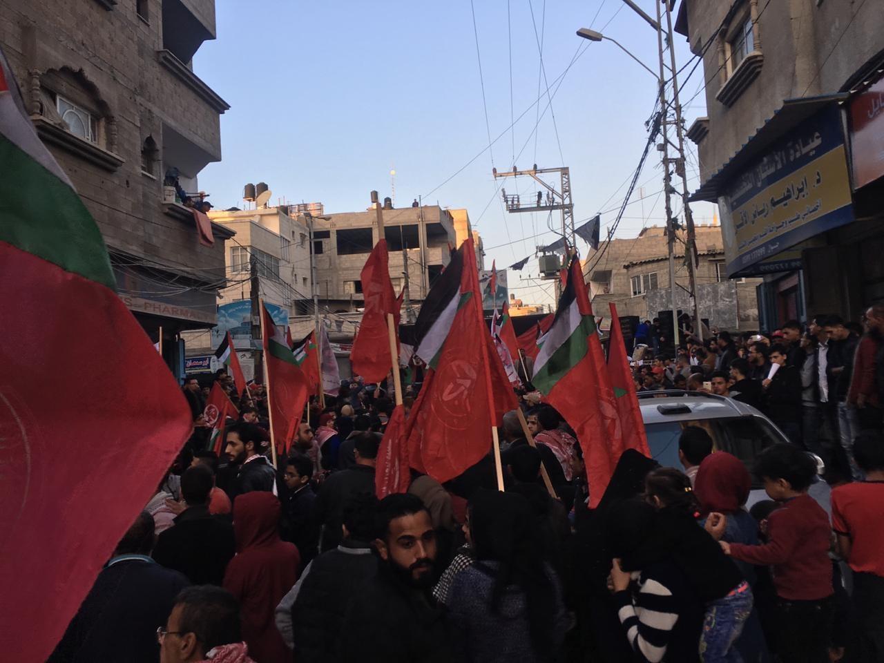 احياء ذكرى اطلاقة الجبهة الشعبية في مدينة غزة  (3).jpg