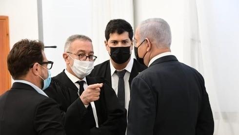 نتنياهو في المحكمة