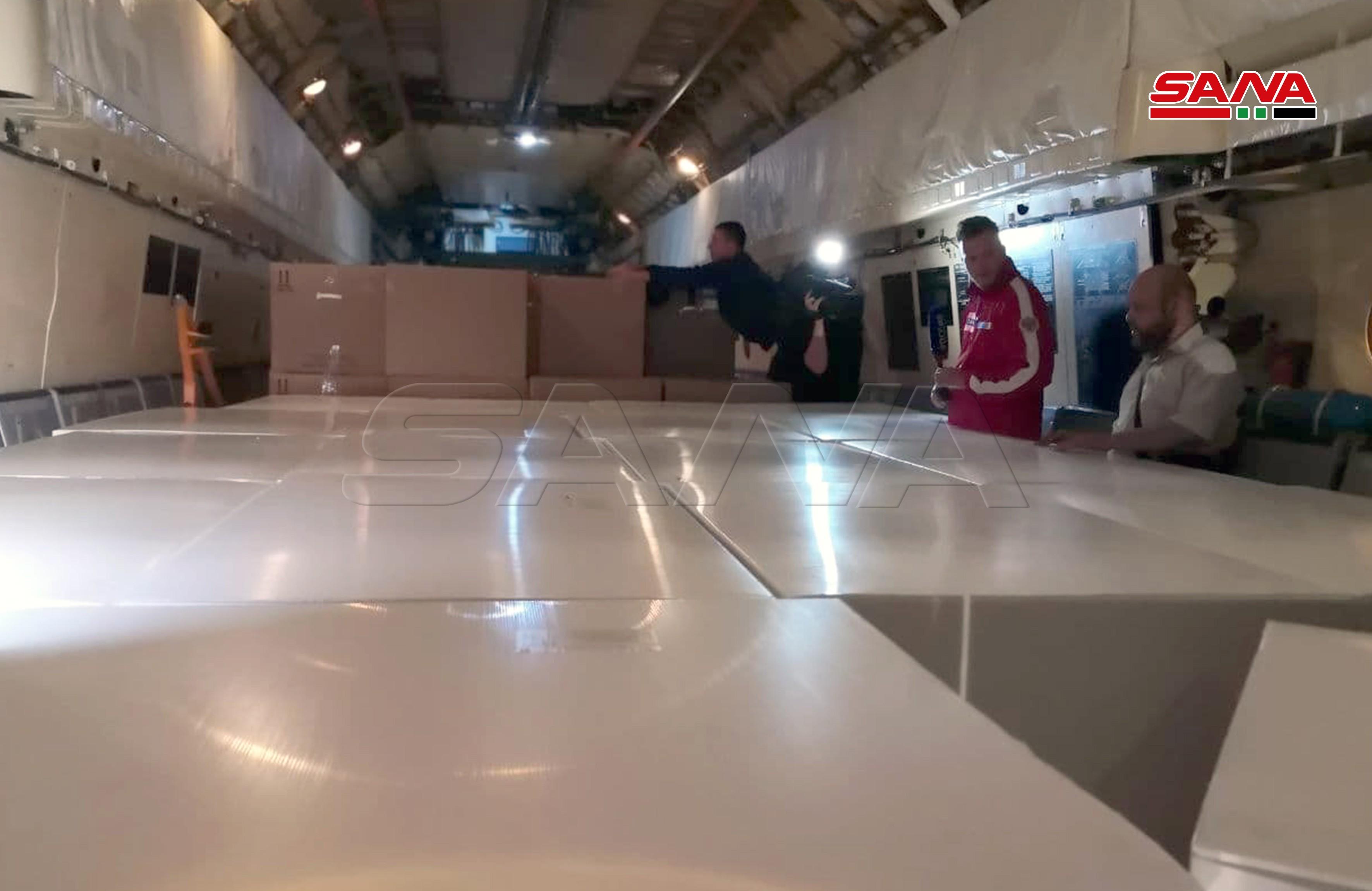 روسيا ترسل 160 طناً من المساعدات والمستلزمات الطبية إلى سوريا (2).jpg