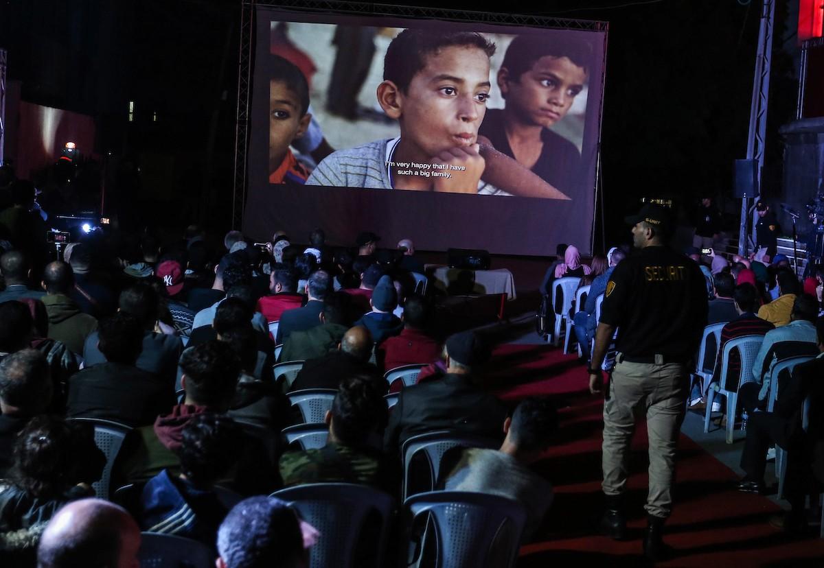 انطلاق مهرجان السجادة الحمراء في غزة (8).jpg