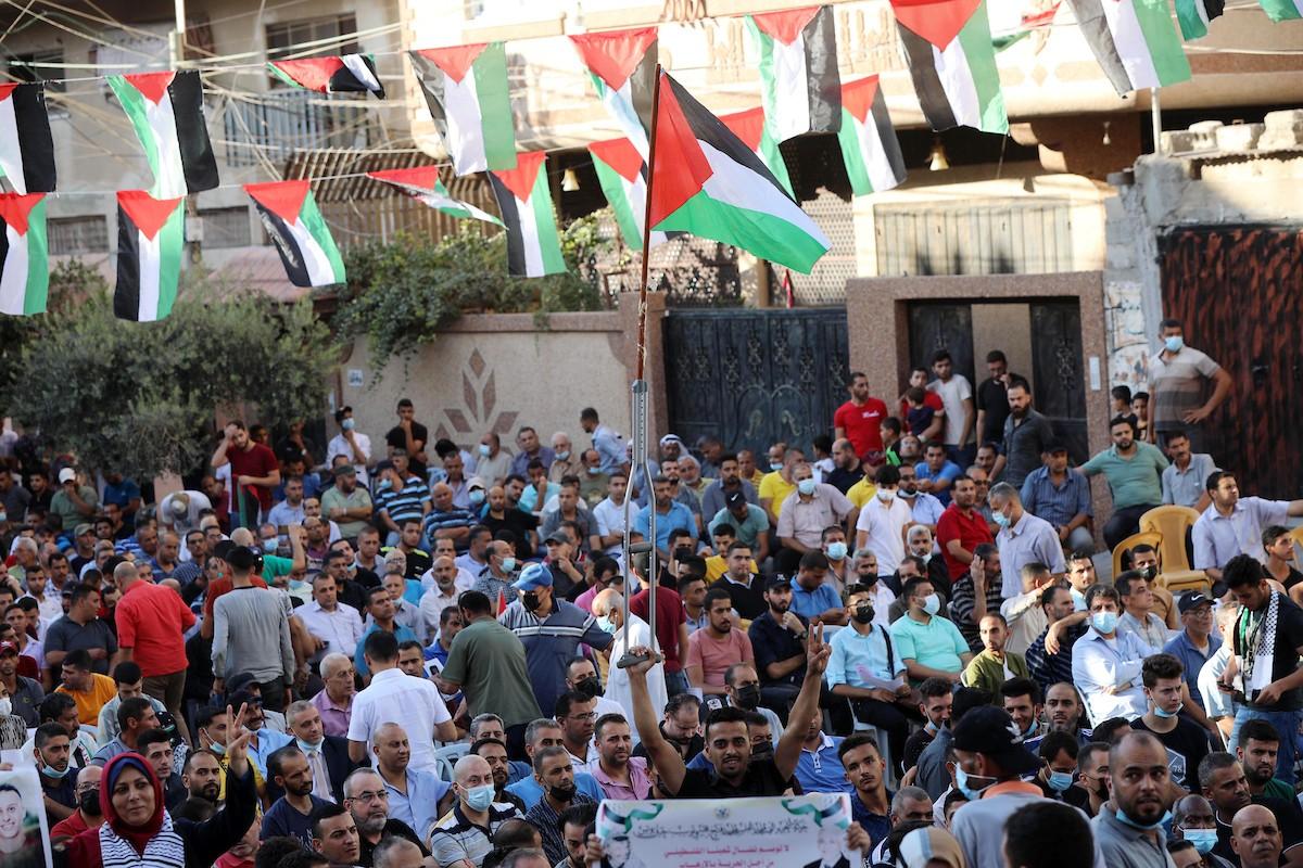 مؤتمر حاشد في غزّة لرفض اتفاق الإطار بين الأونروا وأميركا (4).jpg