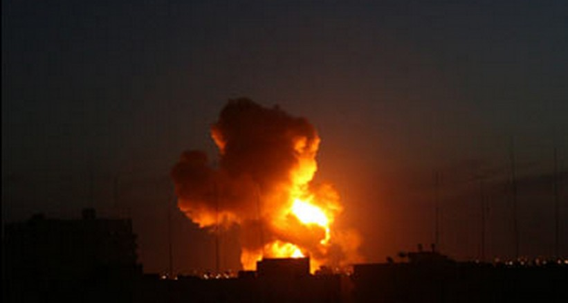 قصف مدفعي يستهدف مناطق فارغة في بيت حانون دون إصابات